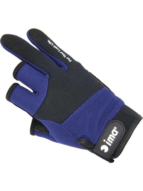 Ima Original Mesh Gloves 3fingers Navy×bk Balıkçı Eldiveni Fiyatı