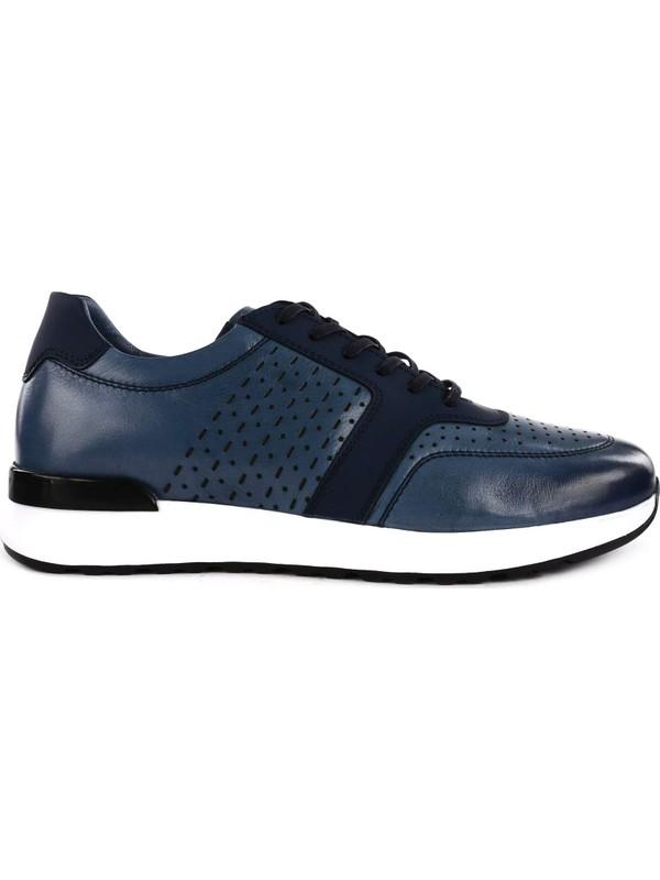 DGN 3416 Erkek Bağcıklı Lazerli Sneakers Ayakkabı 20Y