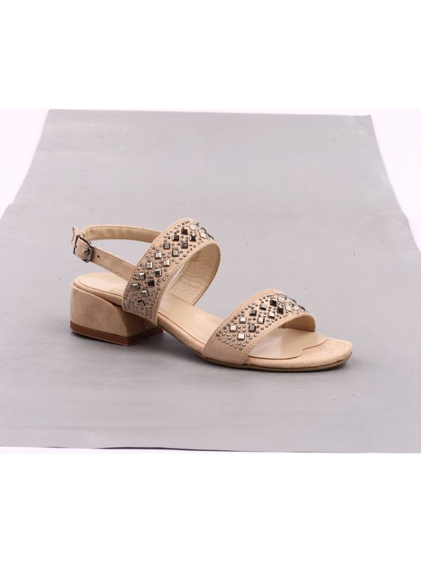 DGN 503 Kadın Ökçeli Sandalet 20Y