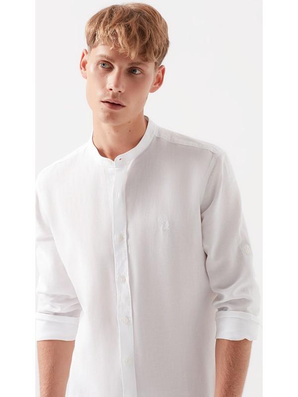 Mavi Erkek Beyaz Gömlek 021565-620