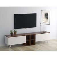 PlatinReyon Beyza Tv Ünitesi Dekoratif Tv Sehpası Ceviz 180 cm