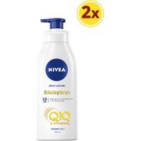 Nivea Q10 + Vitamin C Sıkılaştırıcı Vücut Losyonu 400ML (2 ADET)