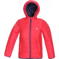 Sportive Çocuk Kırmızı Kapüşonlu Outdoor Mont B10009-KRM