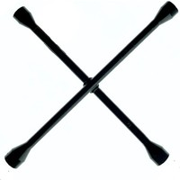 Redno Siyah Bijon Anahtarı Çelik Döküm 17-19-21-22 Dört Kollu