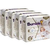 Bumble Bebek Bezi 2 Numara Mini 4'lü Jumbo Paket 80 x 4 = 120'LI