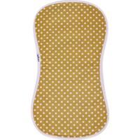 Miniyoki Solare Hardal Sarısı Omuz Bezi - Polka Dot Desenli Örgü Şeritli