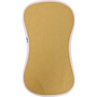 Miniyoki Sahara Hardal Sarısı Omuz Bezi - Polka Dot Desenli Örgü Şeritli