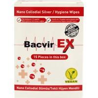 Bacvir Ex Nano Gümüş Hijyen Mendil