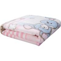 Karaca Home Honey Bunny Pembe Bebek Soft İspanyol Battaniye