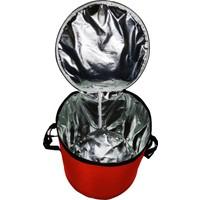 Eziva Home Kamp - Piknik Bagaj Buzluk Çantası 50 lt Kırmızı