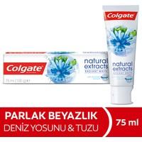 Colgate Natural Extracts Deniz Yosunu Tuzu Beyazlatıcı Diş Macunu 75 ml