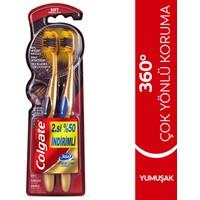 Colgate 360 Gold Diş Fırçası Yumuşak 1+1