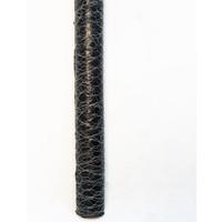 Ege Arge Kümes Teli Çit Teli Altıgen Örme Galvanizli Büyük Gözlü 0,50 mm 1,5 x 20 m