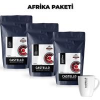 Castello Afrika Hario V60 Kahveleri Paketi 750 Gr
