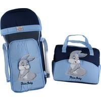 Rain Baby Tavşan Kabartma Taşıma Seti 2'li Mavi