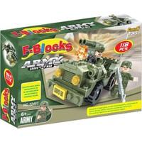 Furkan Toys F-Blocks Asker Seti 118 Parça