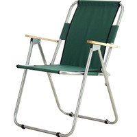 Byeren Piknik Sandalye-Ağaç kollu Yeşil