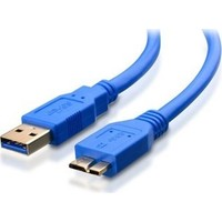 Molix MX4120 USB 3.0 Taşınabilir Harddisk Micro B Harici Disk Kablosu 30 cm