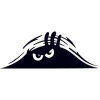 Quart Bagajdan Bakan Adam Oto Sticker, Araba Sticker