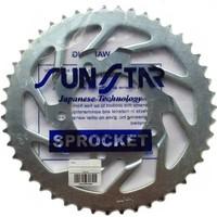 Sunstar Motosiklet Zincir Dişli Seti (Kawasaki Ninja 250 R (2008-2012) - Did Vx3 Gümüş Zincir