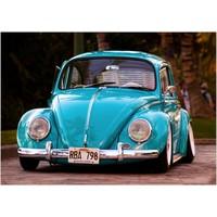 Renk Vagonu 1000 Parça Araba Temalı Puzzle