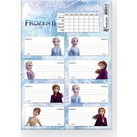 Keskin Color Frozen II Ders Programı 3'lü Etiket