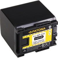 Patona Canon HF-G30 Canon XA20 Canon Xa2 İçin BP-820 Batarya