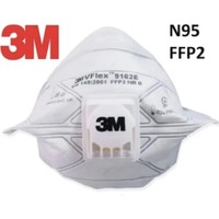 3M Vflex 9162E FFP2 Ventilli Toz ve Sis Solunum Koruyucu Maske 15'li Paket