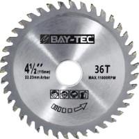 Bay-Tec Elmas Ahşap Kesme Testeresi Taşlama Makinası 115X22 mm
