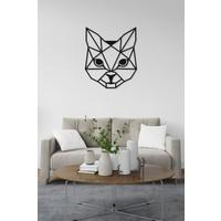 M&c Concept Kitty Metal Duvar Panosu Siyah