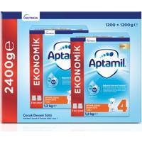 Aptamil 4 1200 gr Mega Size 2'li Paket Devam Sütü 1 Yaşından İtibaren