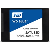 Wd Mavi 500GB PC SSD 3D Nand Sata3 6 (Yurt Dışından)