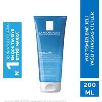 La Roche-Posay Effaclar Yüz Temizleme Jeli Yağlı/Akneye Eğilim Gösteren Ciltler Siyah Nokta Karşıtı 200ml