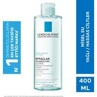 La Roche-Posay Effaclar Misel Su Micellar Ultra Yağlı/Akneye Eğilim Gösteren Ciltler 400Ml
