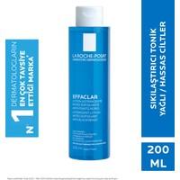 La Roche-Posay Effaclar Tonik Mikro Soyucu Yağlı/Akneye Eğilim Gösteren Ciltler Ciltler Gözenek Sıkılaştırıcı 200Ml