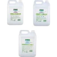 U Green Clean Çamaşır Deterjanı + Yumuşatıcı + Çamaşır Suyu 5000 ml 3'lü Set