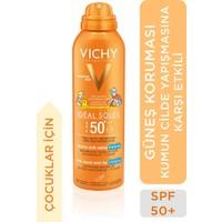 Vichy Capital Soleil Güneş Spreyi Çocuklar için Yüksek Koruma Kum Karşıtı SPF50 200ml