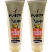 Pantene 3 Minute Saç Bakım Kremi Saç Dökülmesine Karşı x 2 Adet
