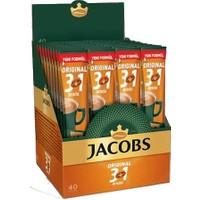 Jacobs 40 x 16 gr 3 Ü 1 Arada Kahve