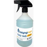 Gazyağınet Gaz Yağı 1 lt Sprey Şişe Gaz Lambası Gaz Sobası Boya Koruma Zift Reçine Zincir ve Yedek Parça Temizliği