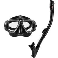 Lixada Yetişkin Serbest Dalış Maskesi Şnorkel Seti