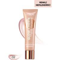 L'Oréal Paris Glow Chérie Işıltı Veren Renkli Nemlendirici Light Glow 30 ml