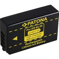 Patona Nikon 1 J1 / 1 J2 / 1 J3 EN-EL20 Batarya