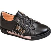 Kaptan Junior Kız Çocuk Günlük Ayakkabı Pssk 661 Siyah