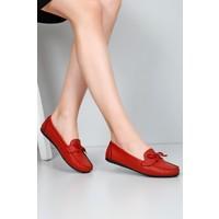 Gönderi® Kırmızı Kadın Babet 30100