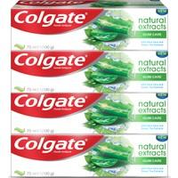 Colgate Natural Extracts Aloe Diş Macunu 75 Mlx 4 Adet