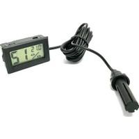 WD Dijital Nem Ölçer Problu Kuluçka Nem Higrometre Termometre