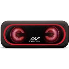 MF Product Acoustic 0124 Taşınabilir Kablosuz Bluetooth Speaker - Kırmızı