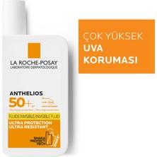 La Roche-Posay Anthelios invisible Fluid Yüz Güneş Kremi Normal/Karma Ciltler Spf50+ Yuksek Koruma 50ml