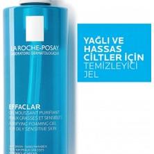 La Roche-Posay Effaclar Jel Temizleme Jeli Yağlı/Akneye Eğilim Gösteren Ciltler 400Ml